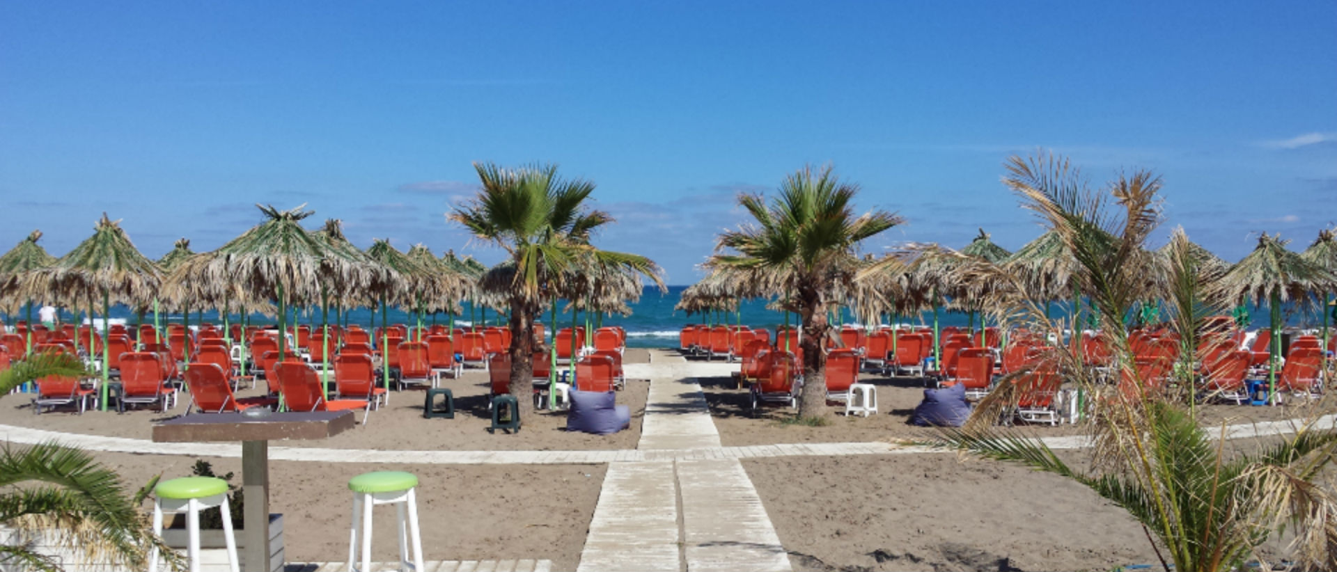 """Your summer """"paradise"""" during your holidays in Heraklion."""