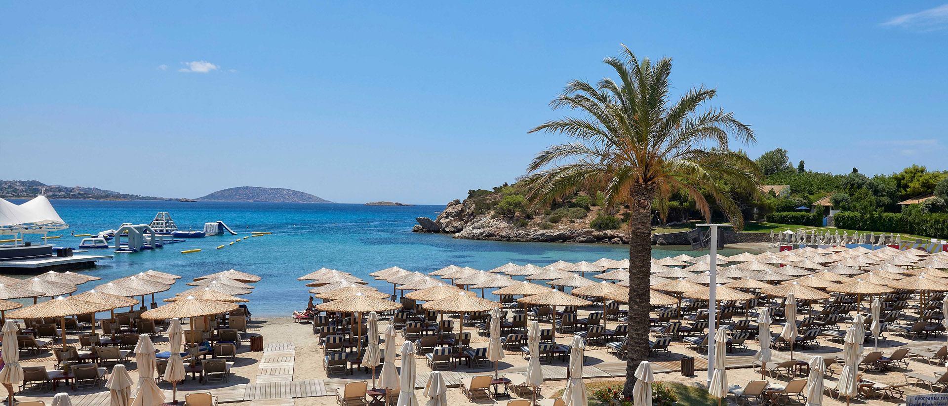 Explore the paradise of the Athenian Riviera at Grand Resort Lagonissi