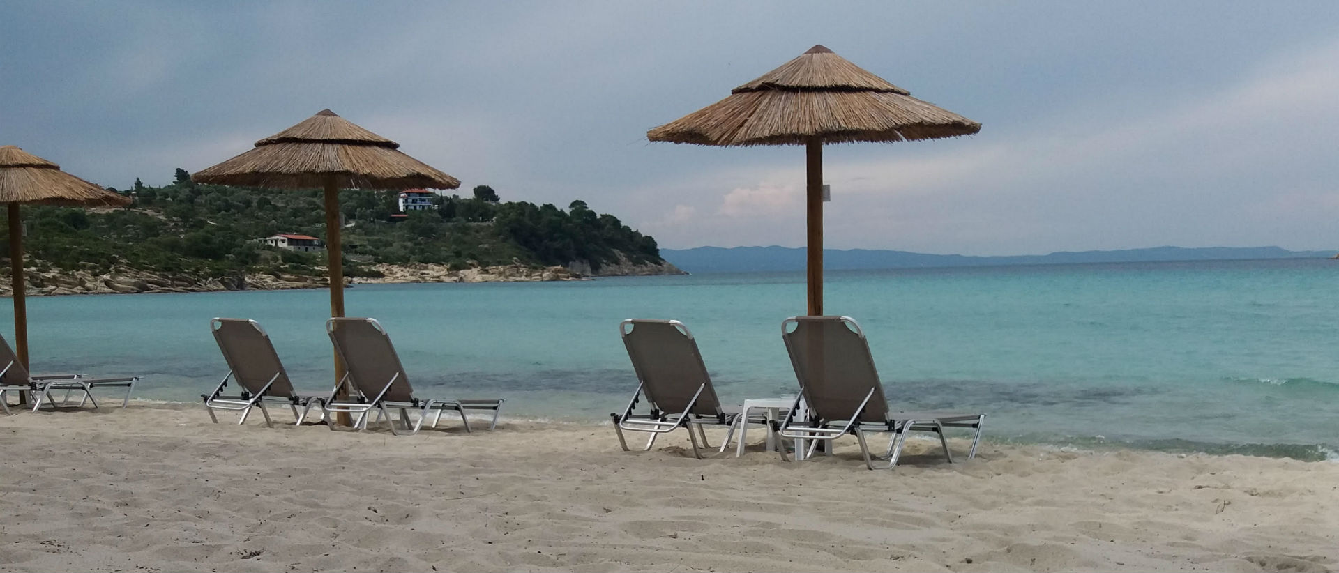 The sea and the sunset of Lagonisi Beach captivate every visitor.