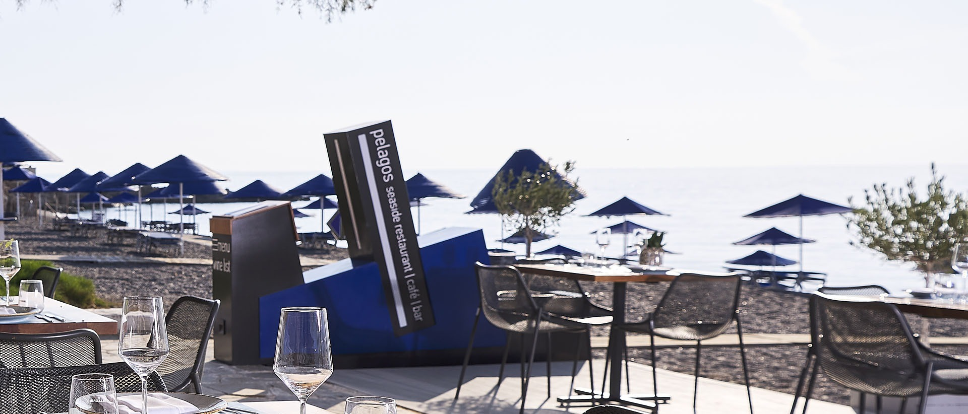 A unique dining experience by the sea.