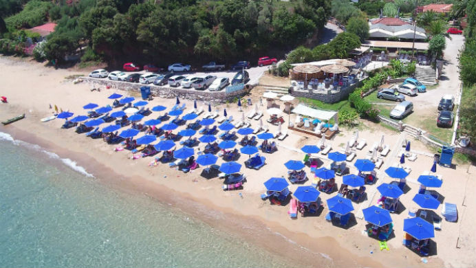 Peroulia Beach